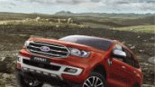 2018 Ford Everest (2018 Ford Endeavour) exterior leaked image