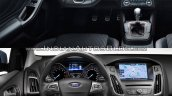 2018 Ford Focus vs 2014 Ford Focus dashboard driver-side