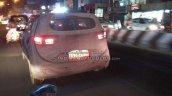 2018 Hyundai Creta facelift spy shot Chennai