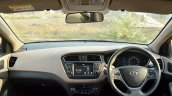 2018 Hyundai i20 facelift review dashboard