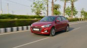 2018 Hyundai i20 facelift review front three quarters action shot