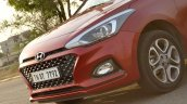 2018 Hyundai i20 facelift review nose