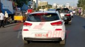 2018 Hyundai i30 spotted testing in India rear view