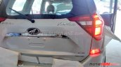 2018 Mahindra XUV500 facelift rear badge
