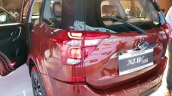 2018 Mahindra XUV500 facelift rear section