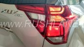 2018 Mahindra XUV500 facelift tail light