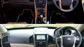 2018 Mahindra XUV500 vs 2015 Mahindra XUV500 dashboard