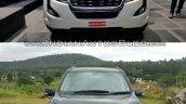 2018 Mahindra XUV500 vs 2015 Mahindra XUV500 front