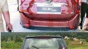 2018 Mahindra XUV500 vs 2015 Mahindra XUV500 rear