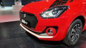 2018 Maruti Swift accessories - front bumper garnish