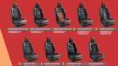 2018 Maruti Swift accessories seat covers