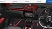 2018 Maruti Swift accessorised interior