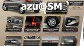 2018 Suzuki Ertiga (2018 Maruti Ertiga) features leaked brochure