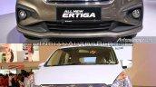 2018 Suzuki Ertiga vs. 2015 Suzuki Ertiga front