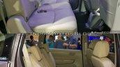 2018 Suzuki Ertiga vs. 2015 Suzuki Ertiga rear seats
