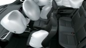 2018 Toyota Vios (Toyota Yaris sedan) cabin airbags