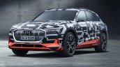 Audi e-tron prototype front three quarters