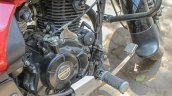 Bajaj Avenger 180 Street test ride review brake pedal
