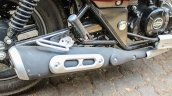 Bajaj Avenger 180 Street test ride review exhaust system