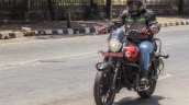 Bajaj Avenger 180 Street test ride review front action