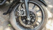 Bajaj Avenger 180 Street test ride review front wheel