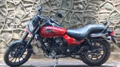 Bajaj Avenger 180 Street test ride review left side