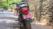 Bajaj Avenger 180 Street test ride review rear