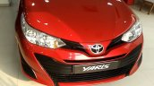 Base-spec Toyota Yaris J spotted at dealership