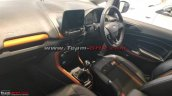 Ford EcoSport Titanium S dashboard