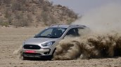 Ford Freestyle review action shot front angle