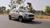 Ford Freestyle review front three quarters motion