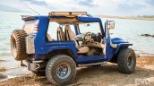 Mahindra Thar Wanderlust rear three quarters