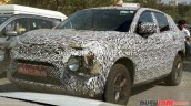 Production Tata H5X exterior spy photo