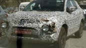 Production Tata H5X front three quarters spy shot