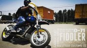 Royal Enfield Himalayan D-71 Fiddler by Bulleteer Customs action