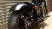 Royal Enfield Thunderbird 350 Graphite by Bulleteer Customs rear right quarter