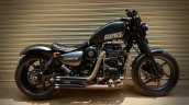Royal Enfield Thunderbird 350 Graphite by Bulleteer Customs right side