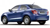 Suzuki Dzire GA rear three quarters
