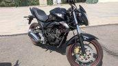 Suzuki Gixxer ABS Black spied