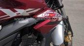 Suzuki Gixxer ABS Red spied tank cowl