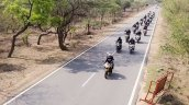 TVS Apache Owner's Group South Chapter formation shot