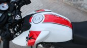 TVS Apache RTR 160 Race Edition White in Images fuel tank