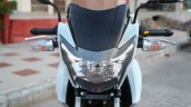 TVS Apache RTR 160 Race Edition White in Images headlight