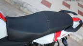 TVS Apache RTR 160 Race Edition White in Images seat