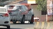 Tata H5X production version spotted test rear angle far