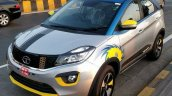 Tata Nexon Mumbai Indians IPL Edition front three quarters