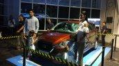 2018 Datsun GO+ (facelift) front three quarters live image