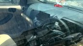 2018 Ford Aspire (facelift) interior spy shot