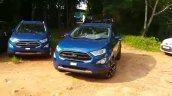 2018 Ford EcoSport Signature front three quarters dynamic