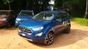 2018 Ford EcoSport Signature front three quarters left side